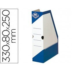 Revistero carton Fast Paperflow azul