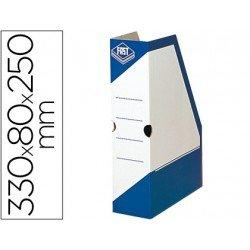 Revistero carton Fast Paperflow azul