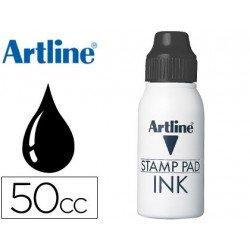 Tinta tampon Artline negro de 50 cc
