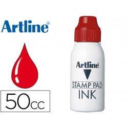 Tinta tampon Artline rojo 50 cc