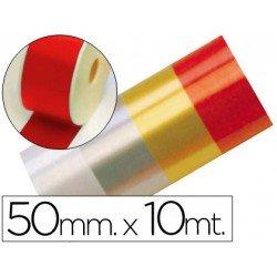 Cinta fantasia rojo 50 mm