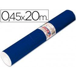 Aironfix Rollo Adhesivo 45cm x 20mt Unicolor Azul Mate Oscuro