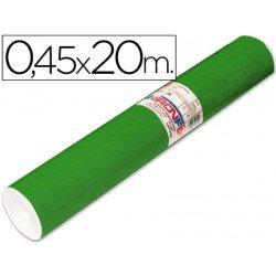 Aironfix Rollo Adhesivo 45cm x 20mt Unicolor Verde Brillo