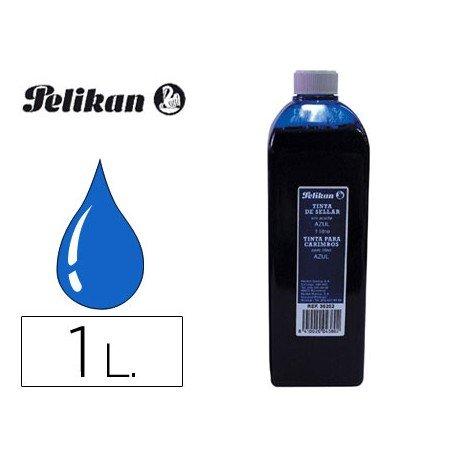 Tinta tampon PELIKAN Azul 1 litro