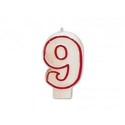 Velas numero 9