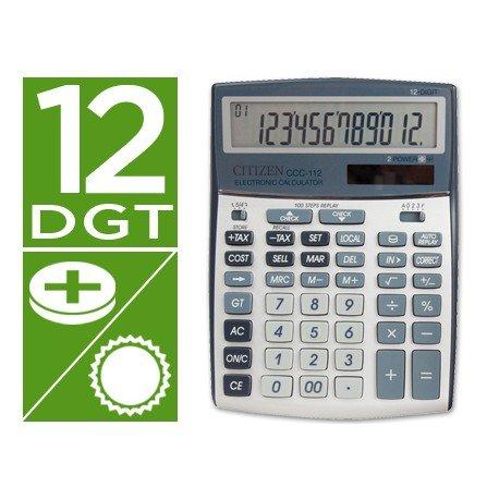 Calculadora sobremesa Citizen CCC-112S