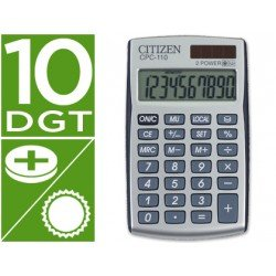 Calculadora Bolsillo Citizen CPC-110 10 digitos