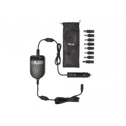 Adaptador de corriente para portatil 70W para coche Trust