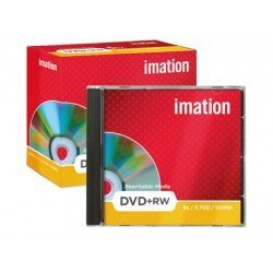 DVD+RW 4,7GB 120min Regrabable Imation