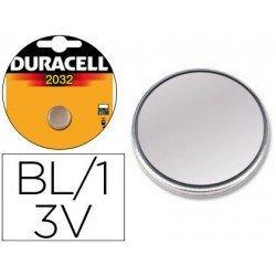 Pila alcalina tipo boton Duracell