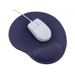 Alfombrilla para raton con reposamunecas Q-Connect