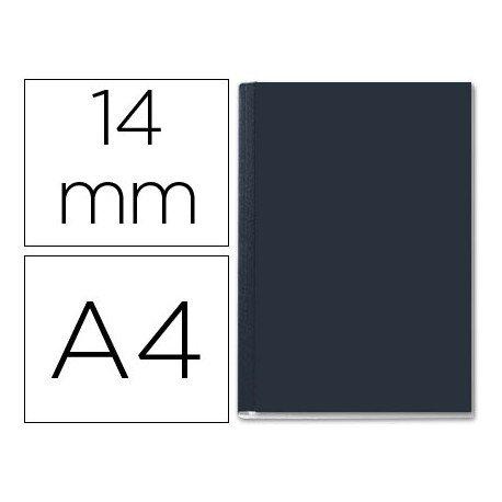 Tapa de Encuadernación Cartón Leitz A4 Negra 106/140 hojas