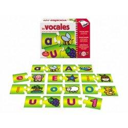 Puzzle educativo de 3 a 5 años Las vocales Diset