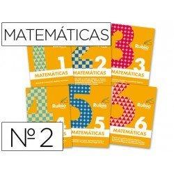 Cuaderno rubio conceptos y ejercicios matematicas evolucion nº 2