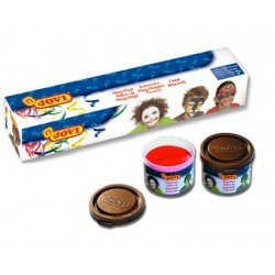 Crema maquillaje Jovi caja 5 colores surtidos