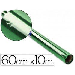 Papel celofan Liderpapel 60cmx10m verde