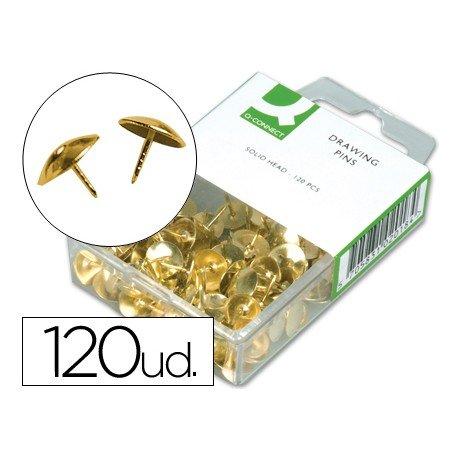 Chinchetas doradas Q-Connect