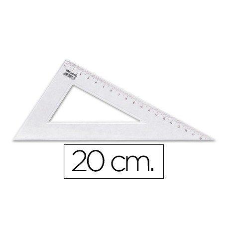 Cartabon de plastico cristal Liderpapel