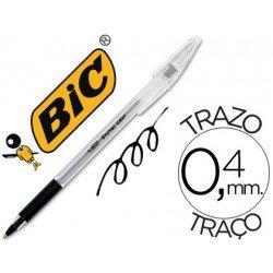 Boligrafo Bic Cristal Grip Negro