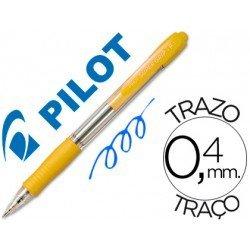 Boligrafo Pilot Super Grip Amarillo