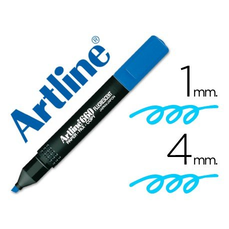 Rotulador Artline EK-660 Fluorescente