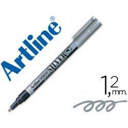 Rotulador Permanente Artline Silver Plata
