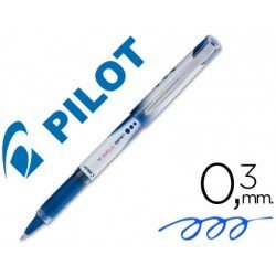 Boligrafo roller Pilot V-Ball Grip 0,3mm Azul