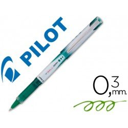 Boligrafo roller Pilot V-Ball Grip 0,3mm Verde