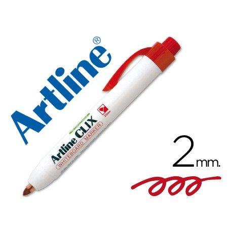 Rotulador Artline Clix rojo 2mm