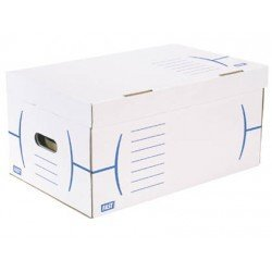 Caja de carton Fast Paperflow Definitivo blanco