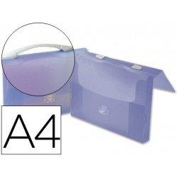 Portadocumentos Cartera Beautone A4 Con broche y Asa Translúcido