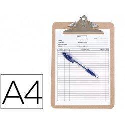 Portanotas Q-Connect material extraduro A4