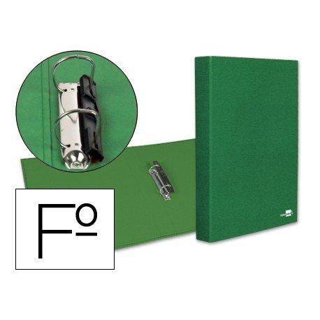 Carpeta 2anillas 25mm Folio Liderpapel Verde