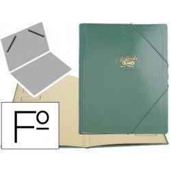 Carpeta clasificadora carton compacto Saro 275 x 360 mm verde