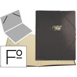 Carpeta clasificadora cartón compacto Saro 275 x 360 mm Negro