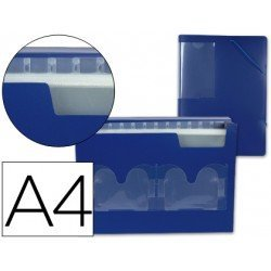 Carpeta clasificadora polipropileno Beautone Din A4