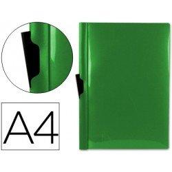 Carpeta dossier con pinza lateral Beautone Din A4 verde