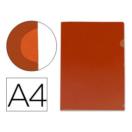 Funda dossier uñero Din A4 rojo