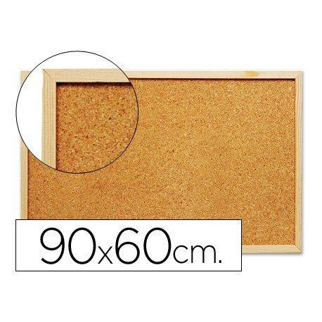 Tablero de corcho mural Q-Connect 90x60 cm