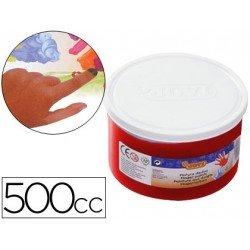 Pintura de dedos Jovi 500 cc rojo
