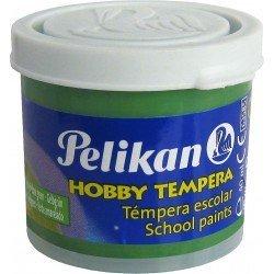 Tempera Pelikan verde amarillo 40 cc