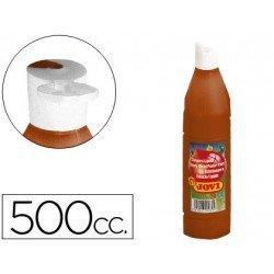 Tempera liquida Jovi marron 500 cc