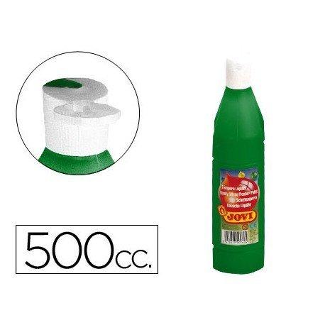 Tempera liquida Jovi verde oscuro 500 cc