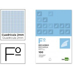 Recambio Liderpapel Folio 2mm