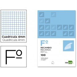 Recambio Liderpapel Folio 4mm