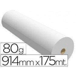 Papel reprografia Plotter SprintJet 80 g/m2, 914 mm x 175 m.