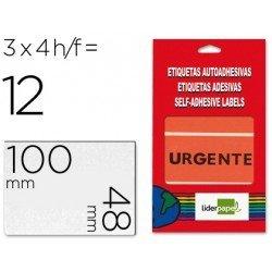 Etiqueta Urgente Liderpapel