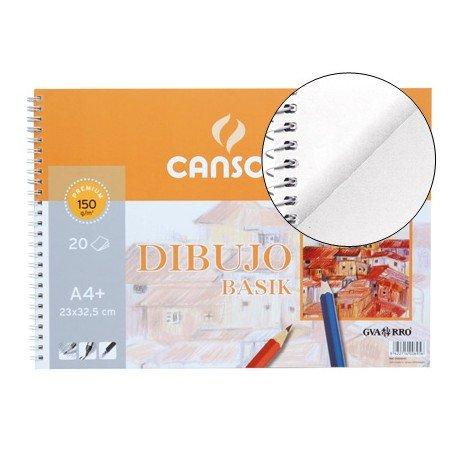 Bloc dibujo Canson din a4 150 g/m2