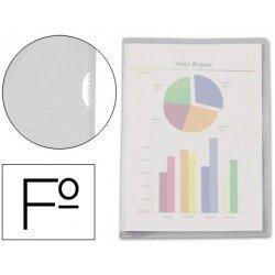 Funda dossier uñero plastico transparente Esselte Folio