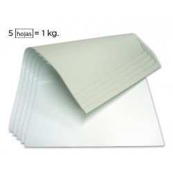 Cartoncillo blanco 350 g/m2 una cara 640 x 880 mm